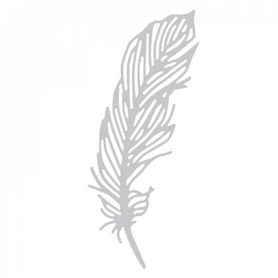 Thinlits Die plume délicate