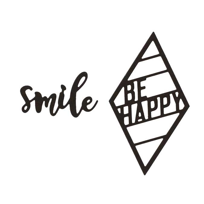 Capsule Mars 2017 - Dies - Smile - 2 pcs