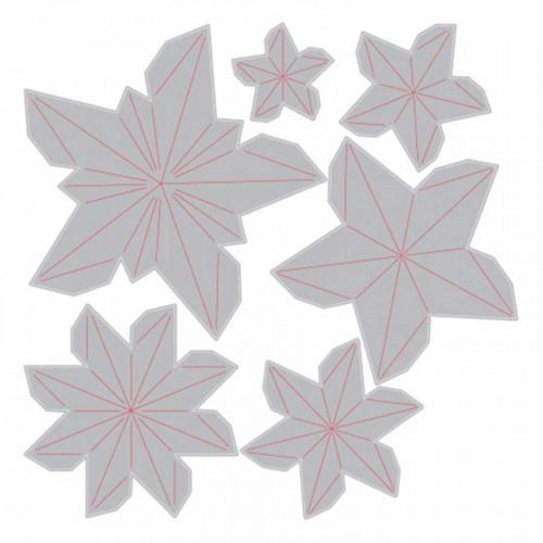 Thinlits - Dimensional Stars - 6 pcs - Tim Holtz
