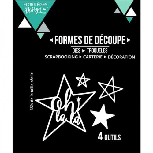 Capsule Janvier 2017 - Outils de découpe - Oh La La - 4 pcs