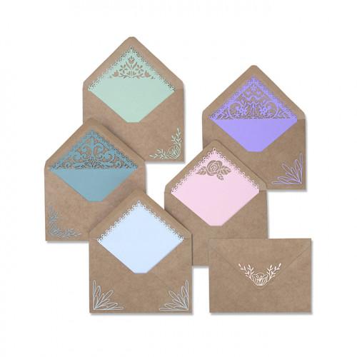 Thinlits Die Set Embellissements pour enveloppes A7 - 10 pcs
