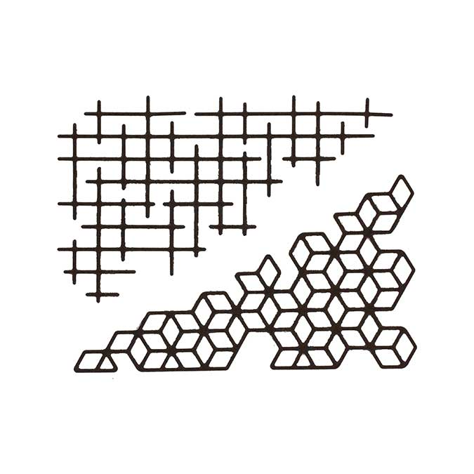Dies - Fine grille - 2 pcs