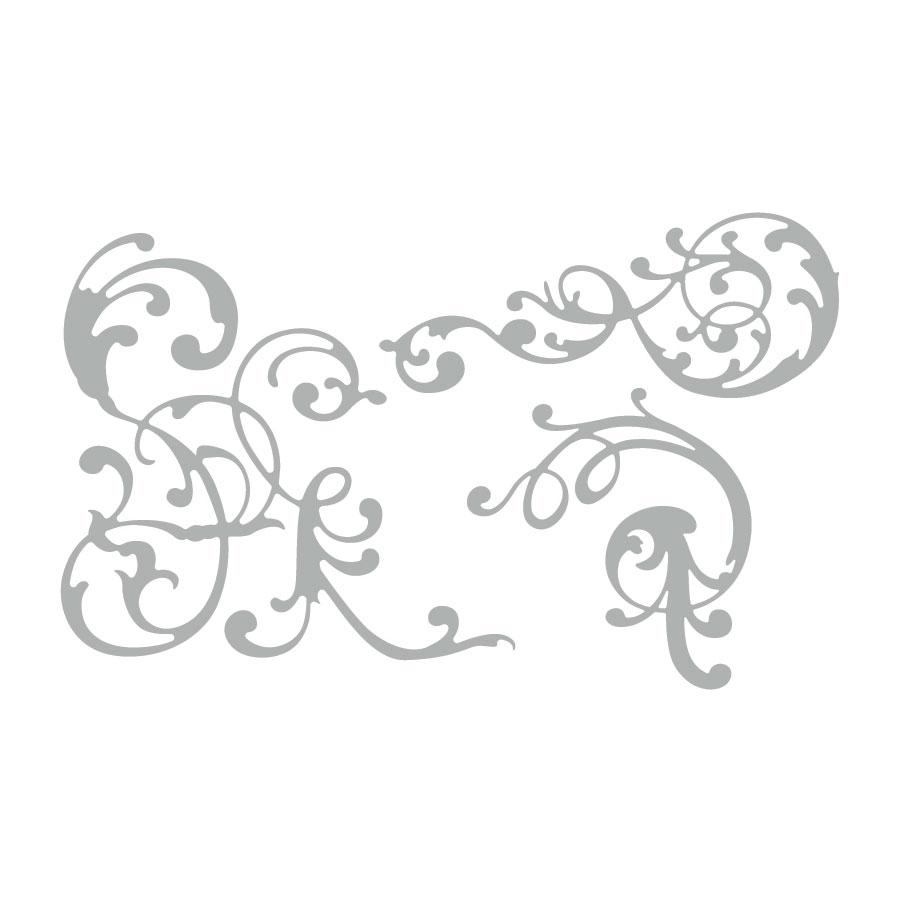 Thinlits Die Set Ornements - 3 pcs