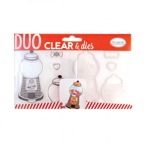 Duo Clear & Dies - Distributeur de bonbons