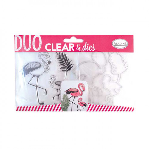 Duo Clear & Dies - Flamand Rose