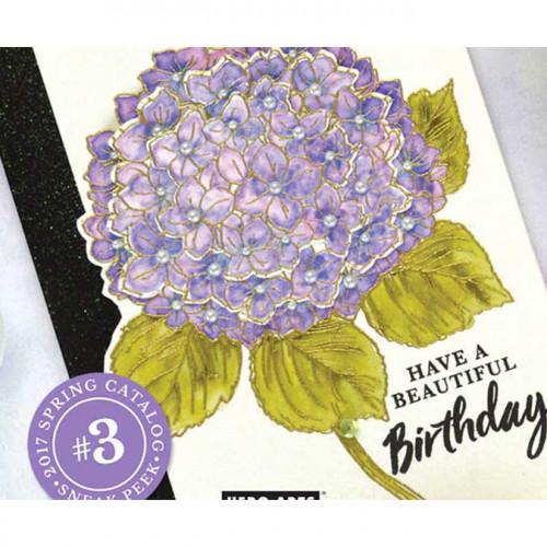 Color Layering Set Hortensia - Tampons, Dies, Encres