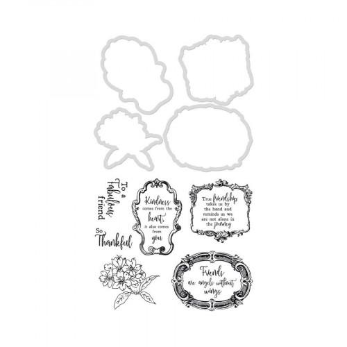 Set Die et tampons - Rose Avenue - Cadres et expressions