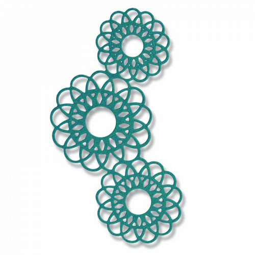 Thinlits Die napperon - 7 x 12,1 cm