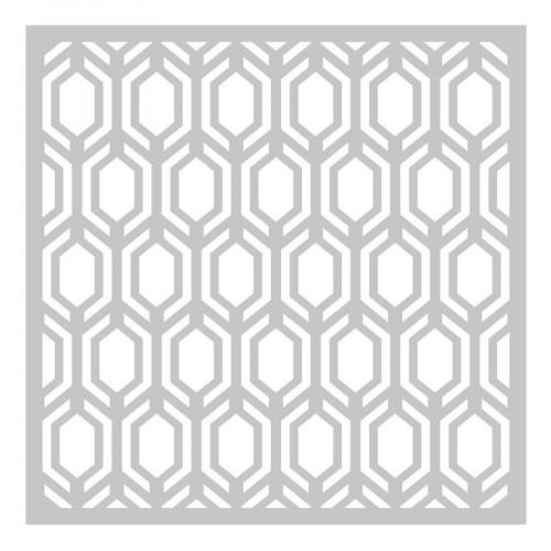 Die Fond Hexagones - 15 x 15 cm