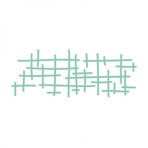 Die Texture trame - 12,8 x 4,6 cm