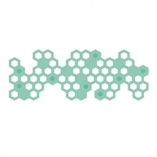 Die Texture Nid d'abeille - 12,9 x 4,8 cm