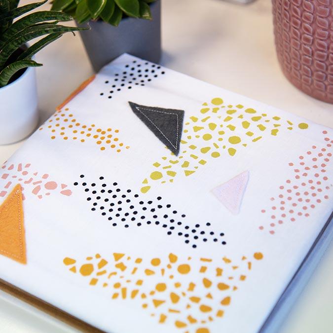 Thinlits Die Set Textures géométriques - 5 pcs