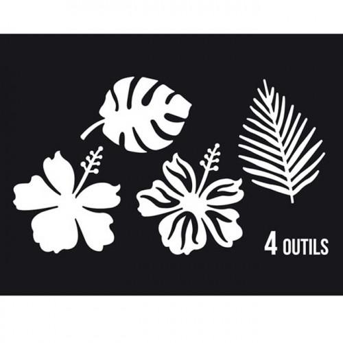 Dies Sweety Cuts - Sous les tropiques - 4 pcs