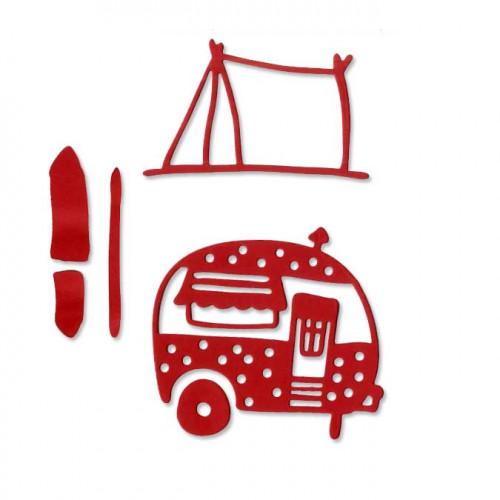 Die Set - Au camping - 5 pcs