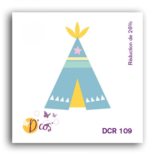 Die D'cos Tipi - 3,2 x 4,1 cm