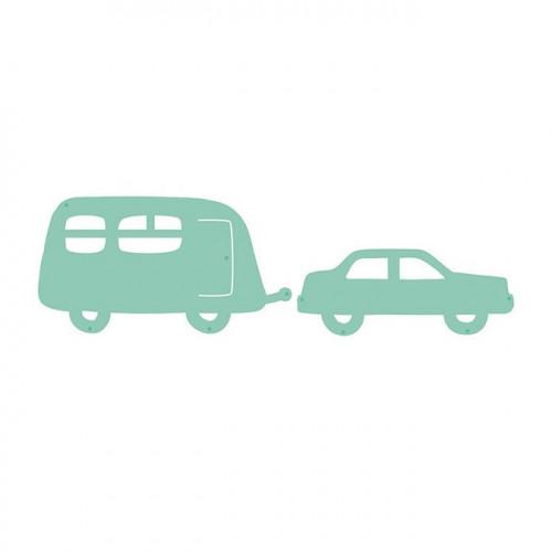 Die Set Voiture avec caravane - 2 pcs