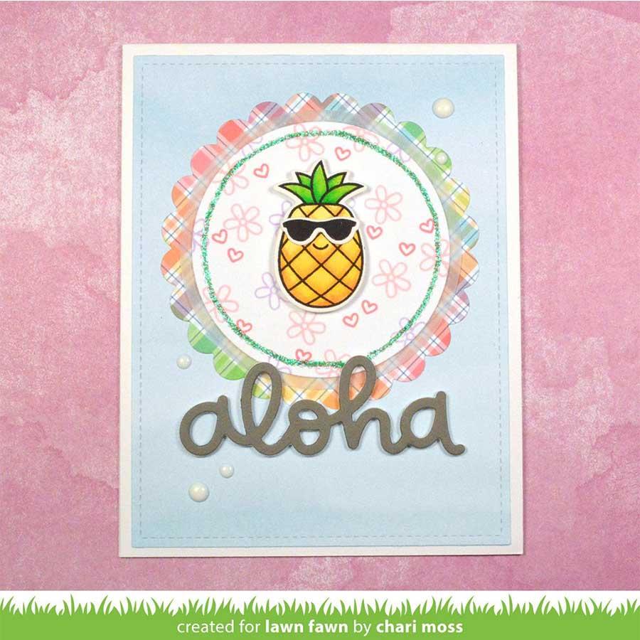 Die Set - Aloha - 2 pcs