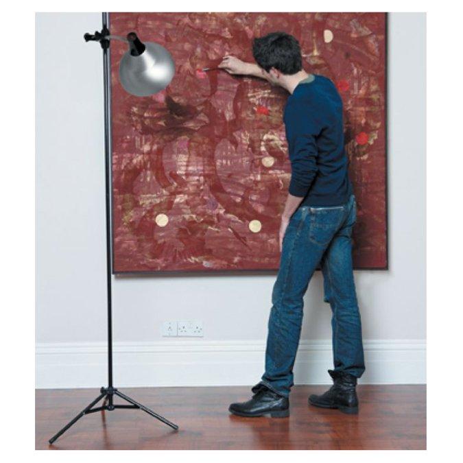 Lampe Studio pour artiste sur trépied