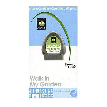 Cartouche Cricut - Walk in my garden