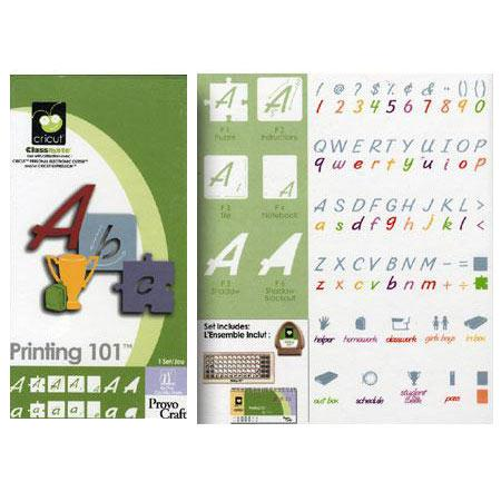 Cartouche Cricut - Printing 101