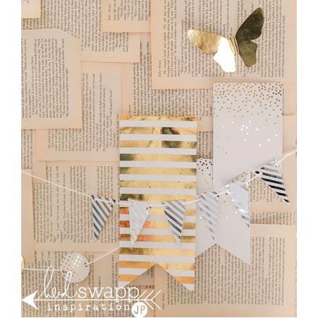 MINC - Reactive Foil - Silver & Gold - 6 x 12