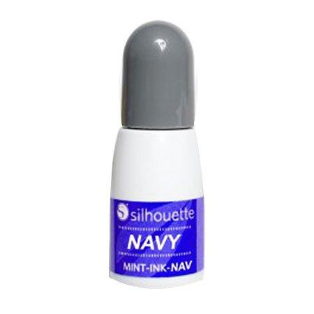 Encre pour tampon Mint - bleu marine - 5 ml