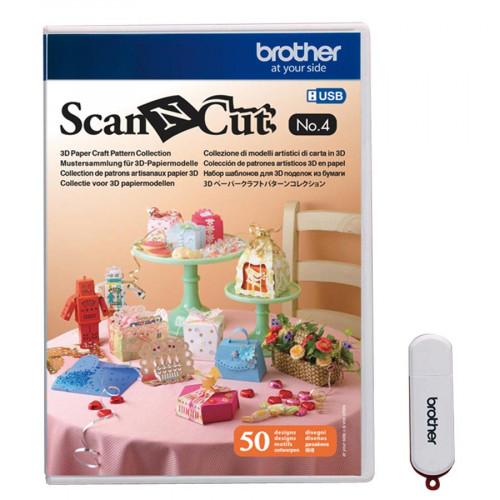ScanNCut - Motifs pour réalisations papier en 3D No 4