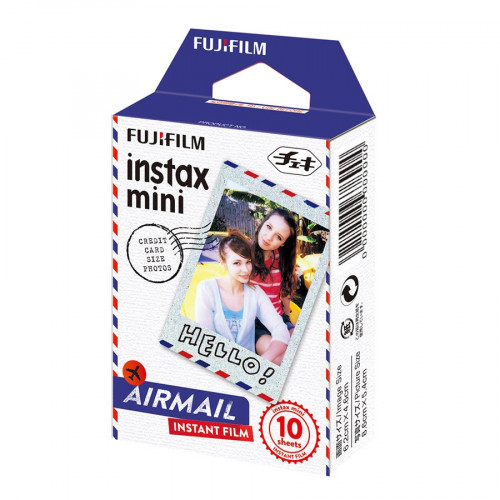 Film Instax Mini Airmail - 10 vues
