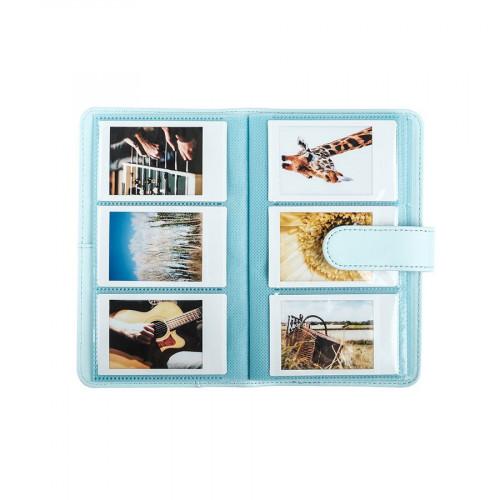 Album photo Instax Mini - bleu givré