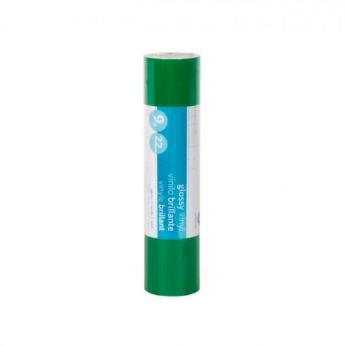 Vinyle adhésif brillant - vert - 22,9 cm x 3 m
