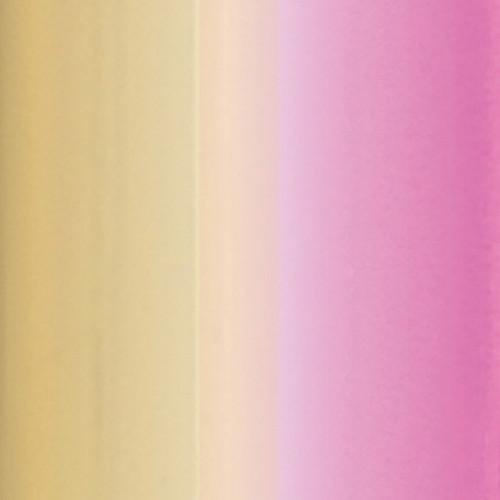MINC - Reactive Foil Dégradé or / rose - 31 x 152 cm