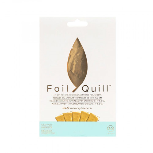 Lot de 30 feuilles de Foil - or - 10 x 15 cm - 30 pcs