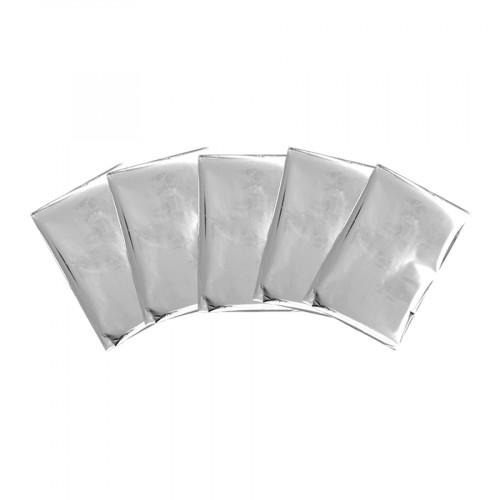Lot de 30 feuilles de Foil - argent - 10 x 15 cm - 30 pcs