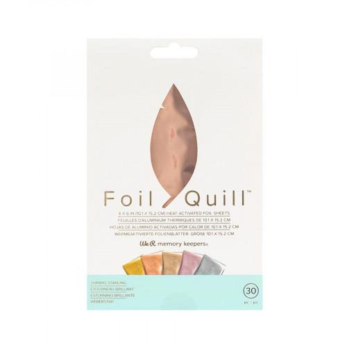 Assortiment #1 de 30 feuilles de Foil - 10 x 15 cm - 30 pcs