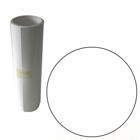 Film vinyle adhésif - 10 m - Blanc Mat