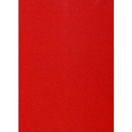 Roboflock pour transfert sur textile - 29 x 21 cm - Velours Rouge vif