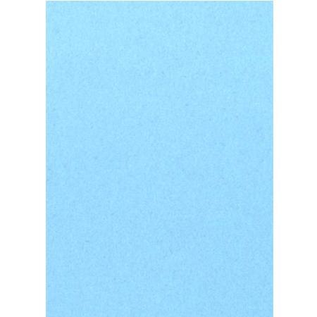 Roboflock pour transfert sur textile - 29 x 21 cm - Velours Bleu ciel