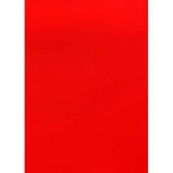 Roboflex pour transfert sur textile - 34 x 21 cm - Rouge mat
