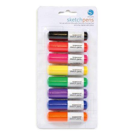 Silhouette - Lot de 8 stylos bille - Sketch pens