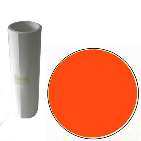 Film vinyle adhésif - 10 m - Orange Brillant