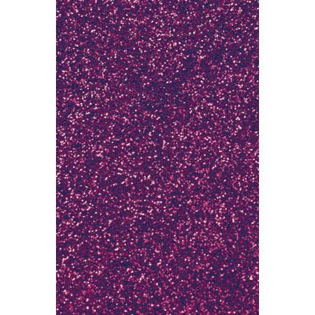 Roboflex Pailleté pour transfert sur textile - 34 x 21 cm -  Violet