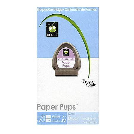 Cartouche Cricut - Paper pups