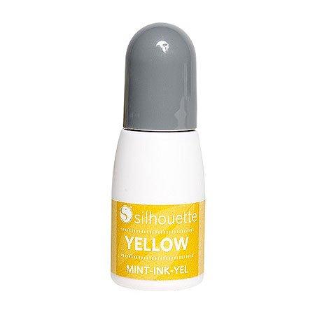 Encre pour tampon Mint - jaune - 5 ml