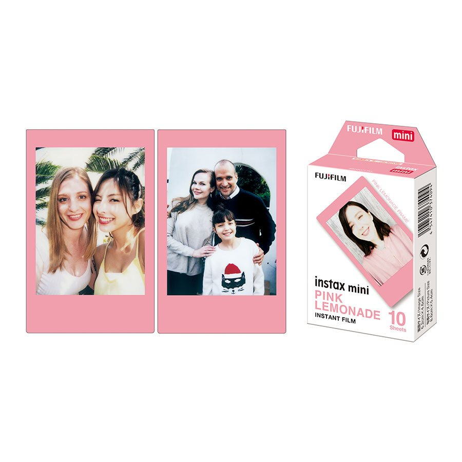 Film Instax Mini Pink Lemonade - 10 vues