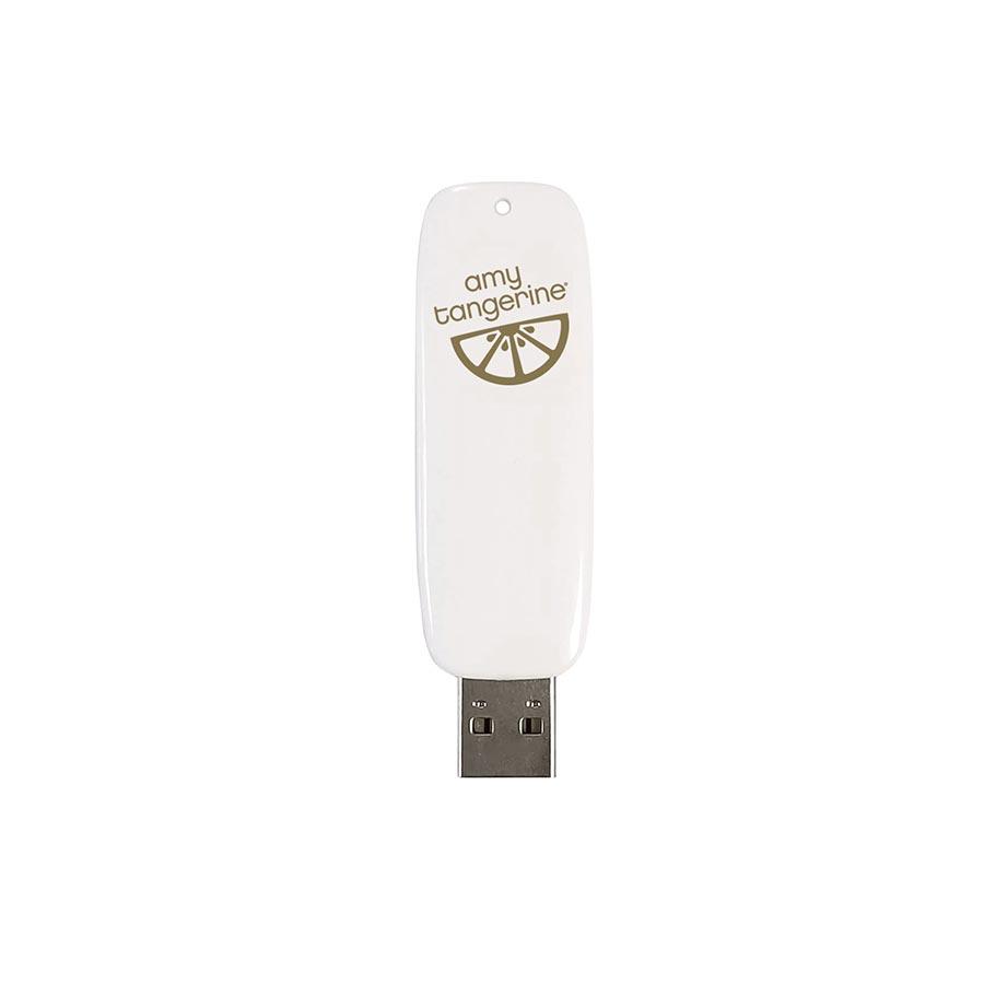 Clé USB Artwork Drives pour Foil Quill Designs Amy Tangerine