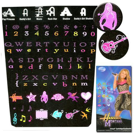 Cartouche cricut - Hannah Montana