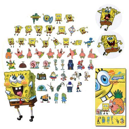 Cartouche cricut - Sponge Bob