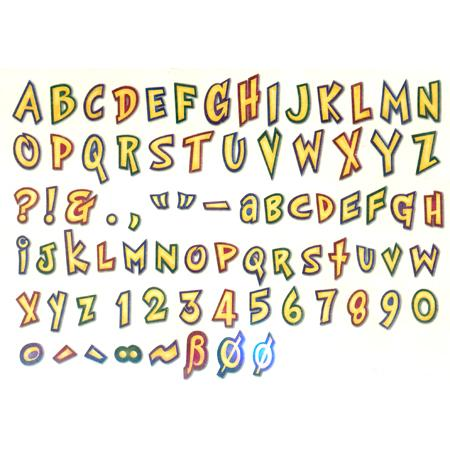 Personal Cutting system - Cartoon font