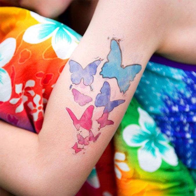 Papier pour tatouage temporaire - 2 feuilles