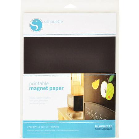 Feuilles magnétiques imprimables x 4 pces